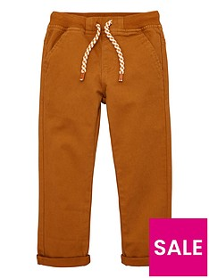v-by-very-boys-rib-waistband-woven-trouser-tan