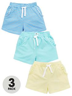 v-by-very-girls-3-pack-frill-pocket-shorts-multi