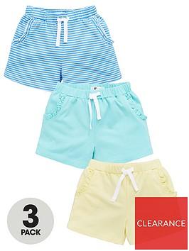 v-by-very-girls-3-pack-frill-pocket-shorts-multi