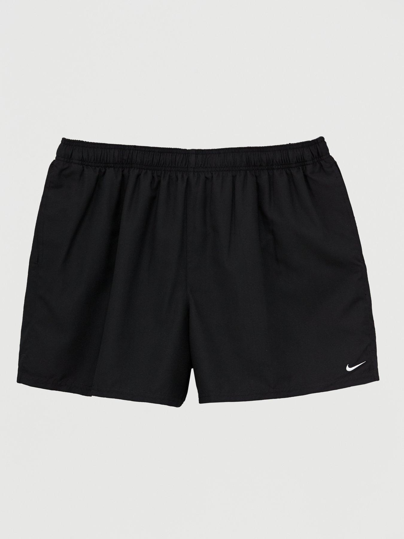 Mens Swim Trunks Breathable Split Happens 100/% Polyester Sports Shorts
