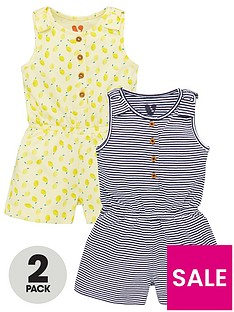 v-by-very-girls-2-pack-jersey-playsuits-multi
