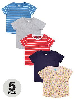 v-by-very-girlsnbspshort-sleeve-tees-5-pack-multi