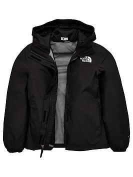 the-north-face-girls-resolve-rain-jacket-black