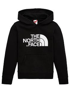 the-north-face-youth-unisex-drew-peak-overhead-hoodie-black