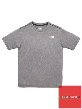 the-north-face-boysnbspshort-sleevednbspreaxion-20nbspt-shirt-grey-heather