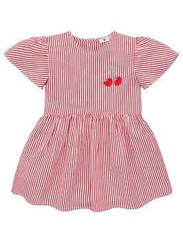 v-by-very-girls-frill-sleeve-cherry-smock-dress-white