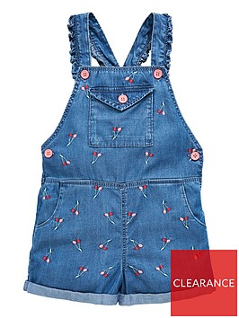 v-by-very-girls-embroidered-chambray-short-dungarees-denim