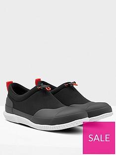 hunter-womens-original-mesh-flat-vegan-shoes-black
