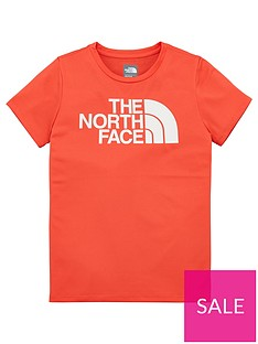 the-north-face-girls-reaxion-t-shirt-coral