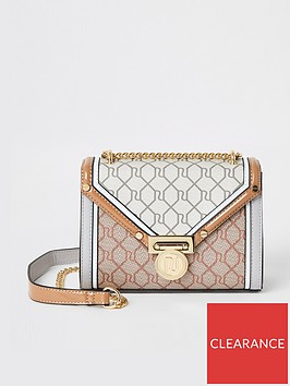 river-island-monogram-foldover-shoulder-bag-light-grey