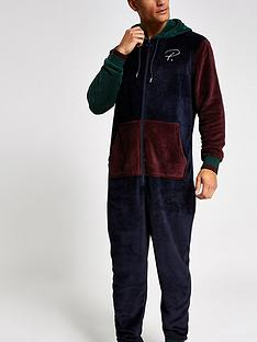 river-island-prolific-navy-contrast-loungewear-all-in-one