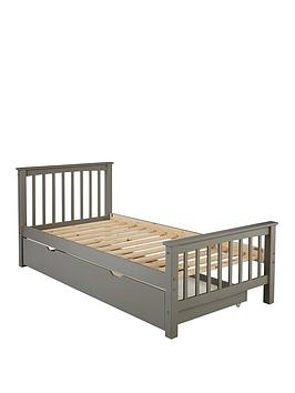 Novara Kids Single Bed Frame With Mattress Options (Buy And Save!) - Excludes Trundle - Bed Frame Only