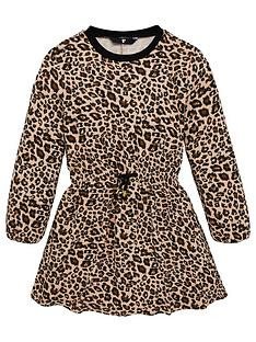 v-by-very-girls-leopard-sweat-dress-brown