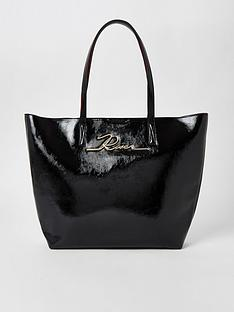 river-island-shopper-black