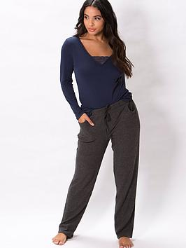 pour-moi-lazy-days-secret-support-long-sleeve-top-navy