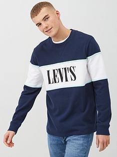 levis-border-color-block-sweatshirt-navy
