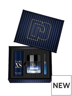 paco-rabanne-paco-rabanne-pure-xs-100ml-eau-de-toilette-150ml-deodorant-150ml-10ml-travel-spray-giftset