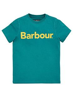 barbour-boys-short-sleeve-logo-t-shirt-green