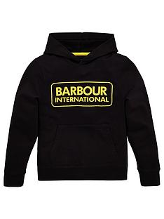 barbour-international-boys-large-logo-hoodie-black