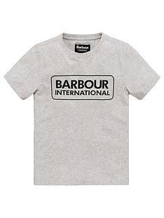 barbour-international-boys-essential-logo-t-shirt-grey