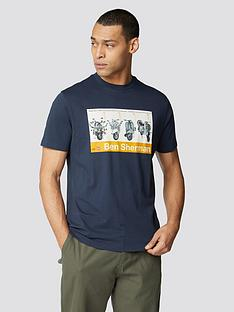 ben-sherman-renton-t-shirt-dark-navy