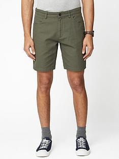 ben-sherman-canvas-shorts-khaki