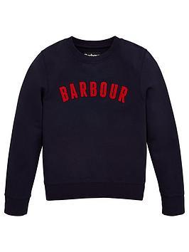 barbour-boys-logo-crew-sweatshirt-navy