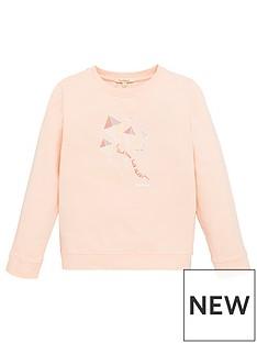 barbour-girls-promenade-crew-sweatshirt-pink