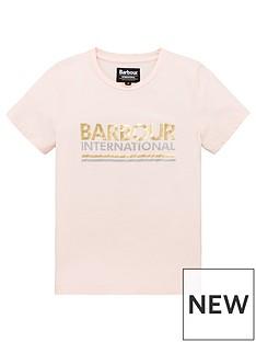 barbour-international-girls-distance-logo-short-sleeve-t-shirt-pink