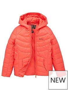 barbour-girls-shoreward-quilt-hooded-jacket-coral