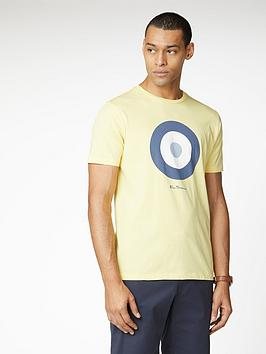 ben-sherman-signature-target-t-shirt-lemon