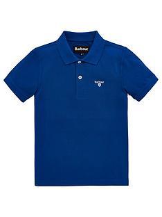 barbour-boys-classic-short-sleeve-pique-polo-shirt-blue