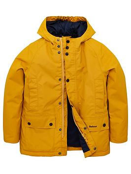 barbour-boys-southway-hooded-jacket-yellow