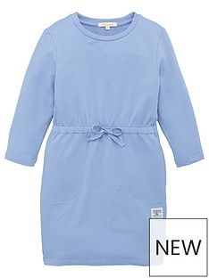 barbour-girls-essential-jersey-dress-blue