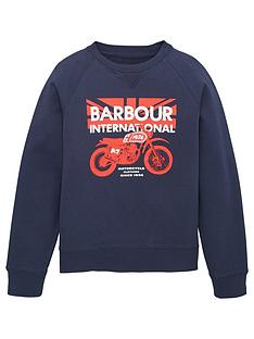 barbour-international-boys-spark-crew-sweatshirt-navy