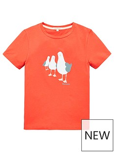 barbour-girls-short-sleeve-seagull-t-shirt-coral