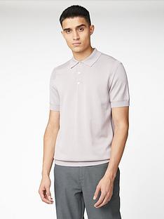 ben-sherman-signature-cotton-short-sleeve-polo-top-lilac