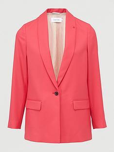 calvin-klein-jeans-coloured-suit-long-blazer-pink