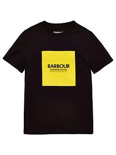 barbour-international-boys-block-logo-t-shirt-black