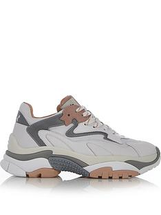 ash-addict-chunky-sole-trainers-whitegrey