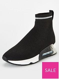 ash-lovely-bis-sock-trainer-black