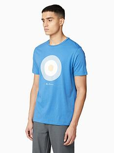 ben-sherman-signature-target-t-shirt-blue