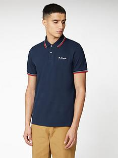 ben-sherman-signature-polo-top-navy