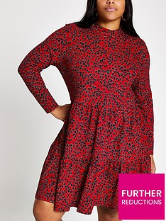 ri-plus-floral-tiered-smock-dress--red