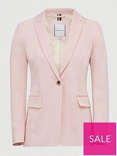 tommy-hilfiger-cotton-pastel-suit-blazer-pink