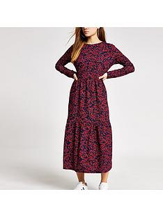 ri-petite-floral-midi-dress-red