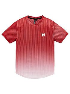good-for-nothing-boys-fade-short-sleeve-t-shirt-red