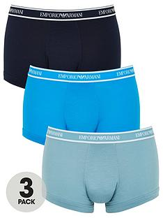 emporio-armani-bodywear-emporio-waistband-3-pack-stretch-cotton-trunks-bluenavysky-blue