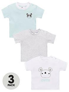 v-by-very-baby-unisex-panda-3-pack-stripe-tops-multi
