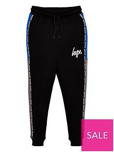 hype-boys-taped-jog-pants-black
